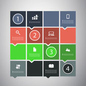 Infographik design — Stockvektor