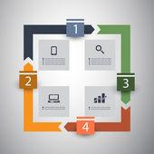 Infographic Design — Stockvektor
