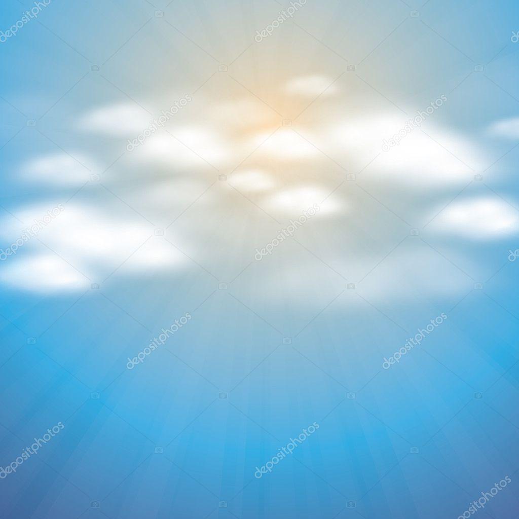 抽象云背景矢量 — 图库矢量图片