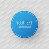 Abstract Background with Minimal Circular Text Box Design — Stockvector