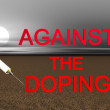 Doping — Stock Photo
