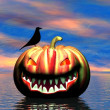 Halloween background — Foto de stock #12881299