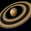Planet saturn — Stock Photo