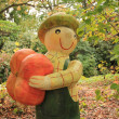Autumn and pumpkin — Stock Photo #14102571