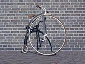 Bike grey — Stock Photo