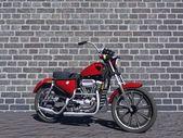 Motorbike red — Stock Photo