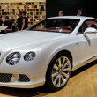 BENTLEY continental GT v8 - Stock Photo
