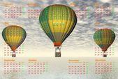 Calendar 2014 — Stock Photo