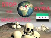Syrien-massaker — Stockfoto