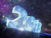 Mutlu yeni yıl 2013 takvim arka plan — Stok fotoğraf
