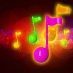 Muzieknoten — Stockfoto