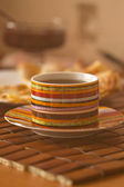 Cap of tea. Shallow depth of field for natural view — Fotografia Stock