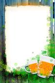 Saint Patrick's Day Background frame — Stock Photo