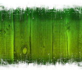 Green Grunge Wooden Background — Stock Photo
