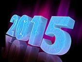 Fond de célébration bonne année 2015 — Photo