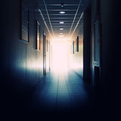 Office building corridor — Stock Photo