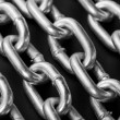 Industrial chains — Stockfoto