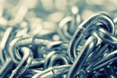 Industrial chains — Stock Photo