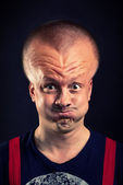 Inflated head — Stock Photo