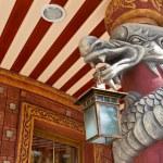 Restaurant facade detail — Stock Photo #13315805