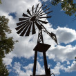Old-fashioned windmill - Stock Photo