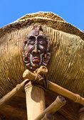 Antique indigenous idol — Stock Photo