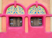 Fairy-tale house facade — Stock Photo
