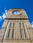 Tower with clock — Stock Photo