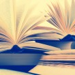 Stock Photo: Books. Toned