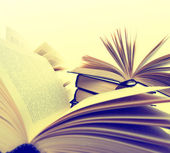 Libros closeup — Foto de Stock