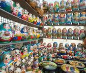 русские куклы — Стоковое фото