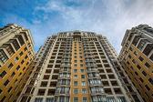 Expensive apartment block — Stock Photo