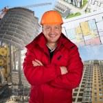Happy worker — Stock Photo #14067669