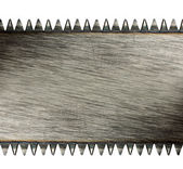 Scratched saw blade — Stock Photo