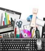 Office stationery — Stockfoto