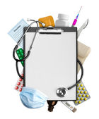 Medical supplies — Stock Photo