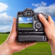 Capturing rural landscape — Stock Photo