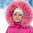 Cute girl winter portrait — Stock Photo #19499459