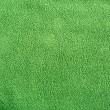 Green soft synthetic fleece — Stock Photo #22584981