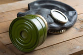 Old gas mask — Stockfoto