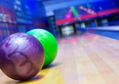 Bowling alley — Foto Stock