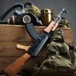 Old USSR military equipment — Stock Photo