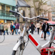 Stock Photo: City bicycle