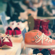 Shoes on display - Stock Photo