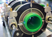 Pipeline manufacturing — Stock Photo