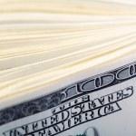 100 dollar bills — Stock Photo #25819881