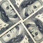 100 dollar bills — Stock Photo #25819955