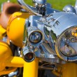 Motorcycle headlight — Stock Photo #26060035
