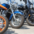 Colorful motorcycles — Foto Stock