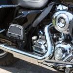 Motorcycle engine — Stock Photo #26060139